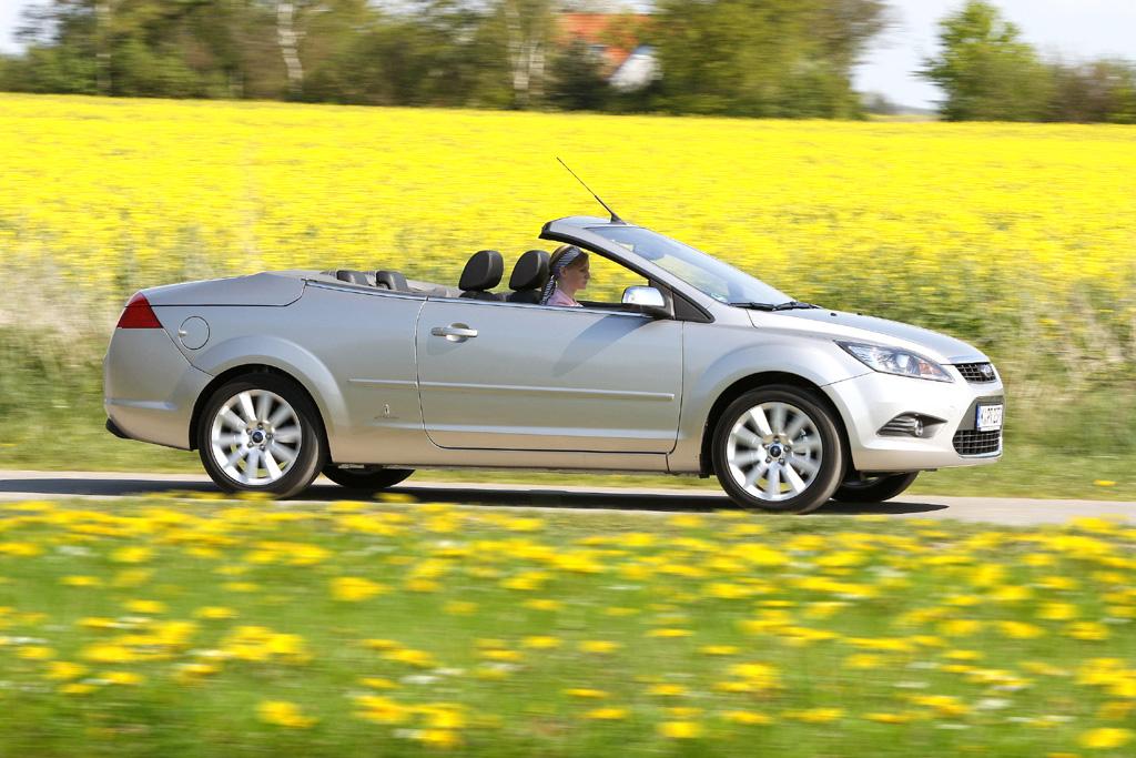 Auch der Innenraum von Fords Focus Coupé-Cabrio ist Allergie-getestet.
