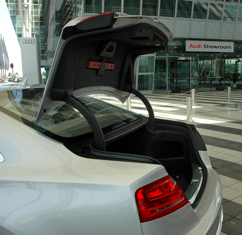 Audi A8 lang: Der Kofferraum fasst stattliche 510 Liter.