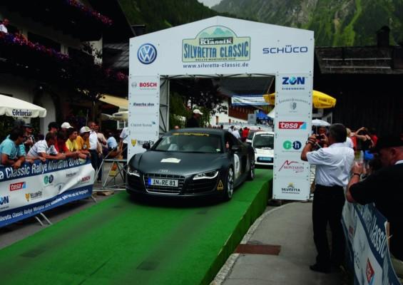Audi gewann Silvretta Classic und E-Auto-Rallye