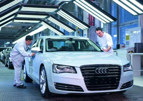 Audi vergibt Arbeitssicherheitspreis