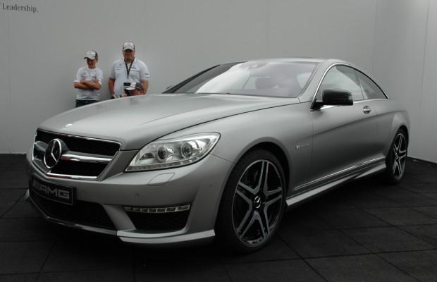 Auf dem (Auto-)Catwalk: Mercedes kündigt neuen Biturbo-CL 63 AMG für September an