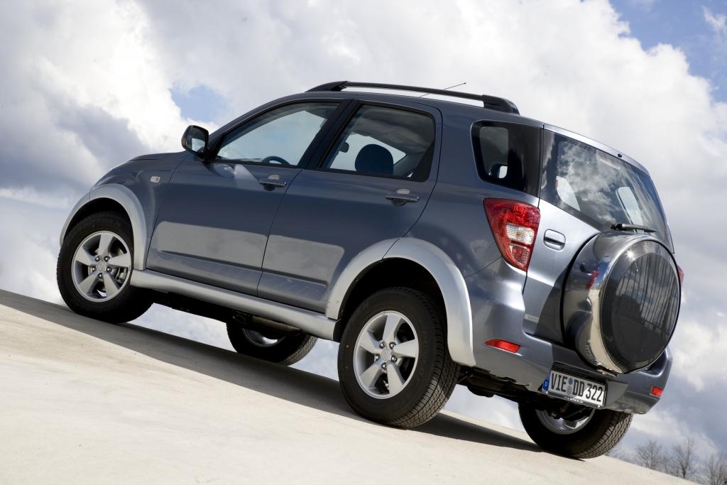Autogas für Daihatsus Kompakt-SUV Terios