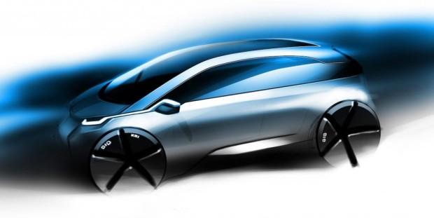BMW Megacity Vehicle: Leichtbau-Stromer für die Großstadt