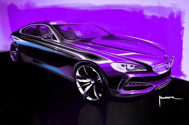 BMW gibt ersten Blick auf das Concept Gran Coupé frei