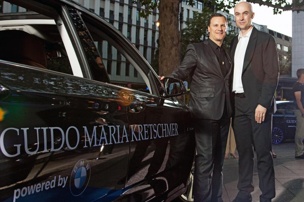BMW und Modedesigner Guido Maria Kretschmer gehen Partnerschaft ein