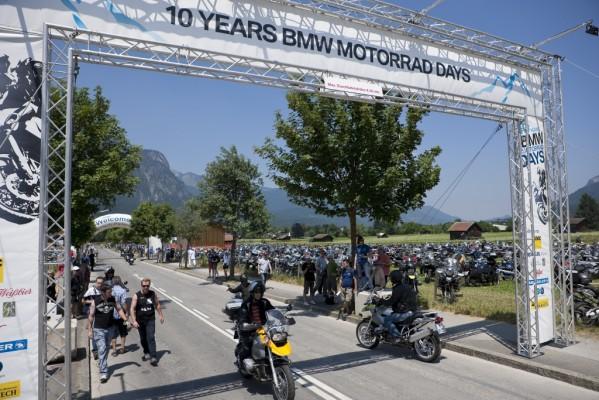 Besucherrekord bei ''BMW Motorrad Days''
