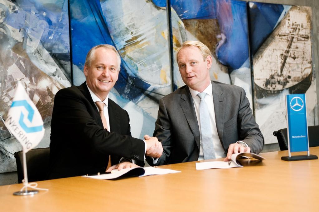 Daimler und Lehnkering vereinbaren Lkw-Lieferung