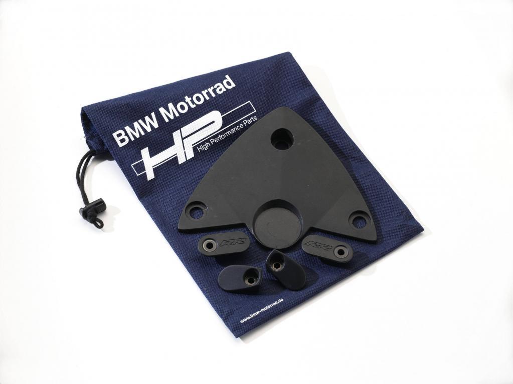 """Das """"HP Race Cover Kit"""" zur Abdeckung demontierter Teile."""
