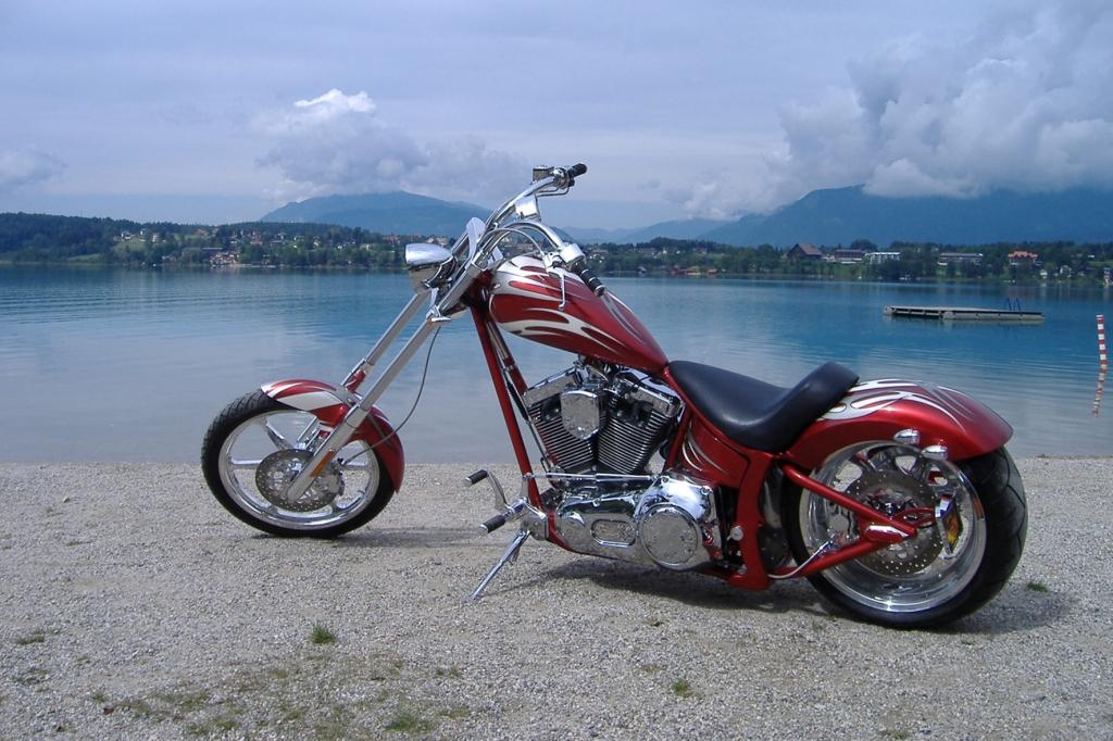 Das Modell Warlord ist das Flaggschiff der US-amerikanischen Motorradschmiede Saxon.