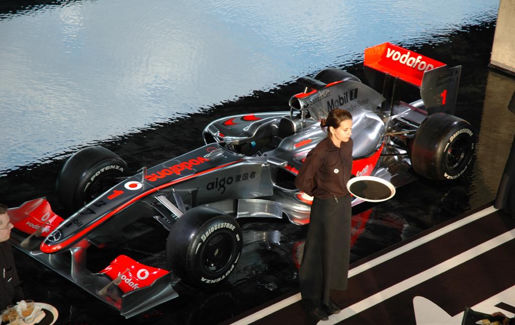 Der Vorgänger-Rennwagen des Mercedes-Formel-1-Teams.