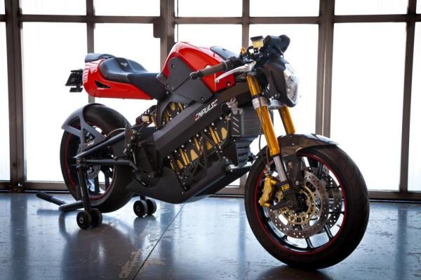 E-Motorrad Brammo Empulse: Höhere Reichweite und Endgeschwindigkeit
