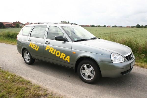 Fahrbericht Lada Priora Kombi: Das Warten hat ein Ende