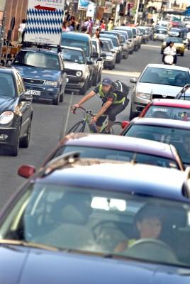 Fast jeder zweite Fahrradunfall geht aufs Konto von Radlern