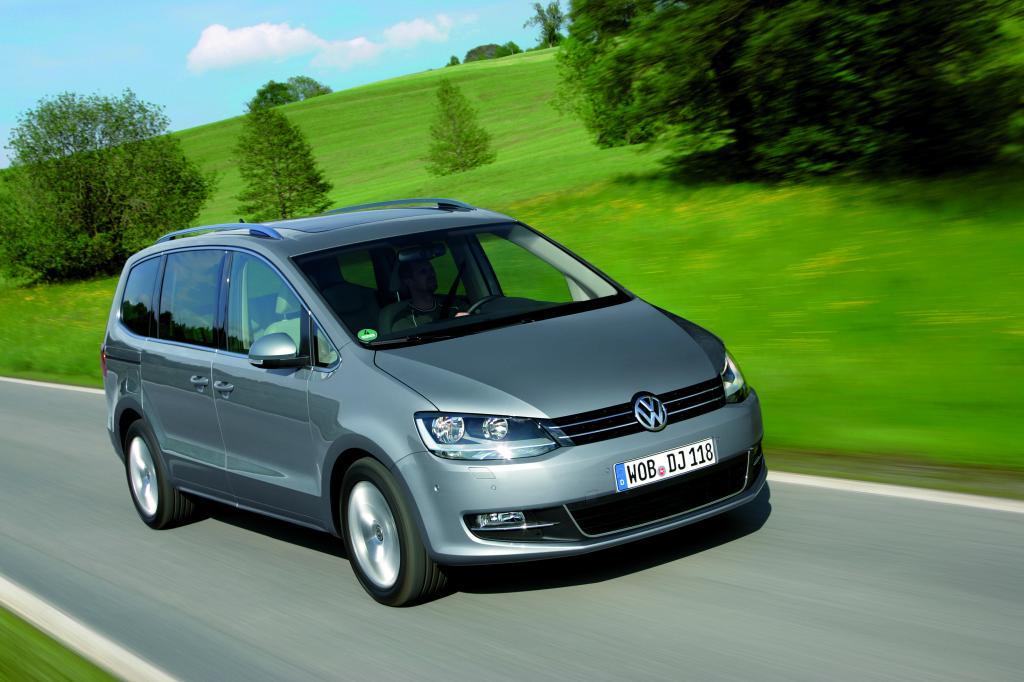 Günstige Versicherungseinstufung für VW Sharan