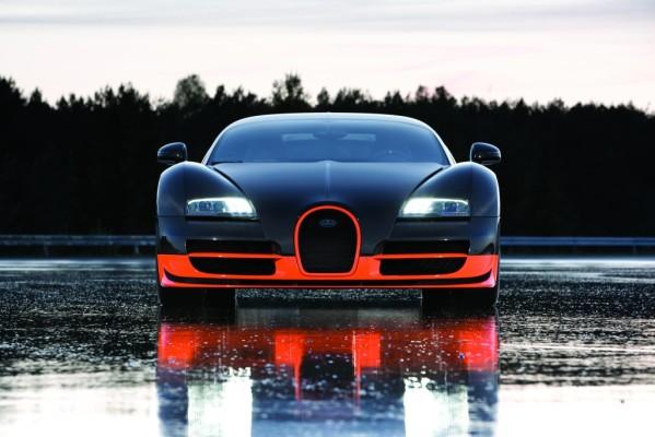 Geschwindigkeitsweltrekord mit dem Bugatti Veyron Super Sport