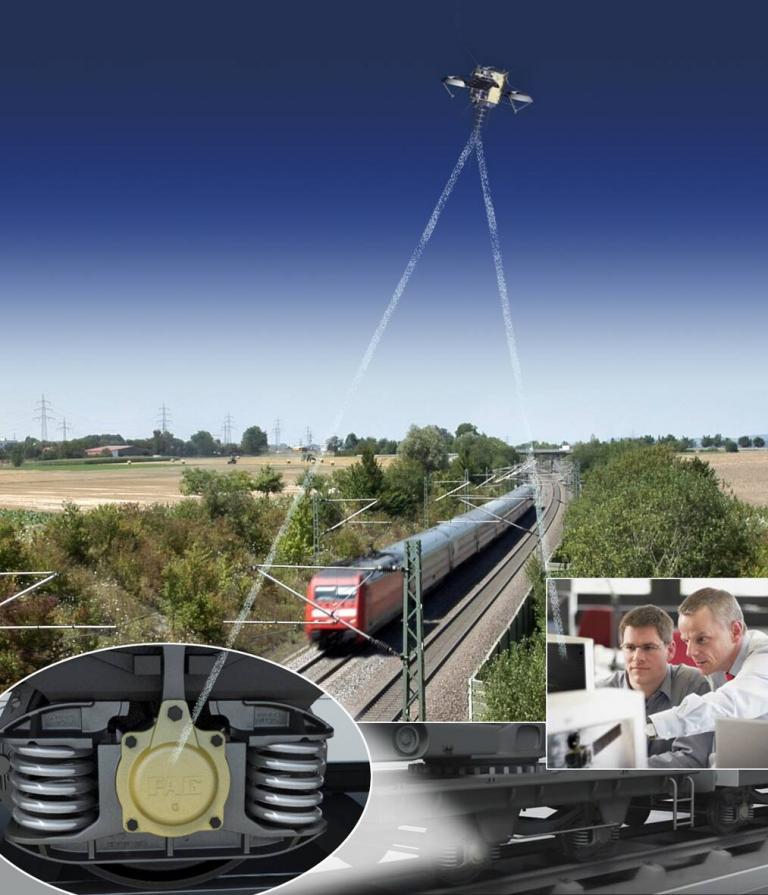 Im Generator-Sensor-Lager (GSL) werden Signale erfasst und über GPS an einen Leitrechner übertragen.
