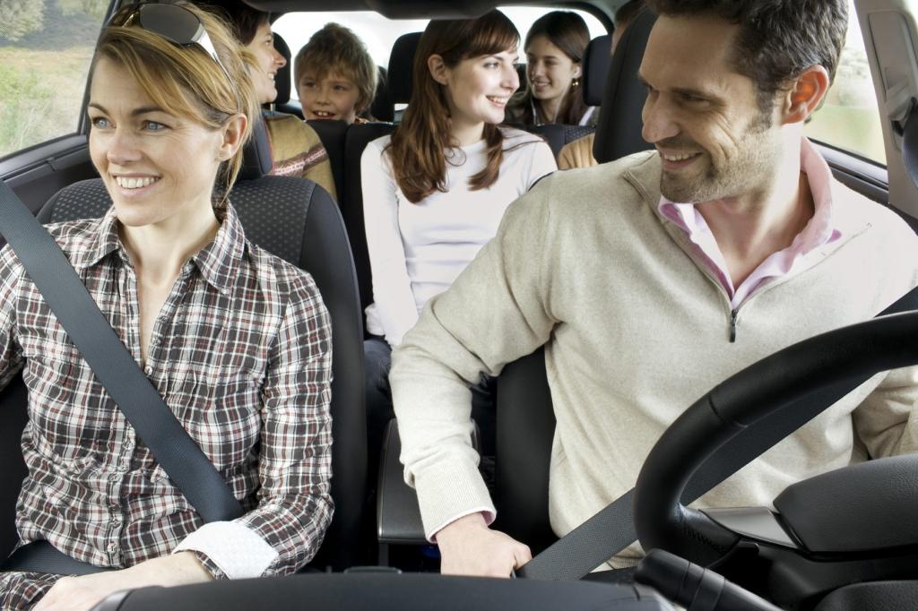 Im Toyota Verso finden bis zu sieben Personen einen Sitzplatz.