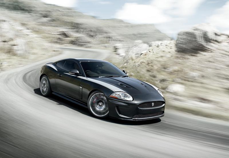 Jaguar XKR 75.