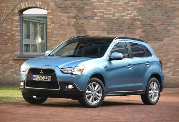 Kleiner Outlander-Bruder: Mitsubishi hat neuen ASX-Crossover am Start