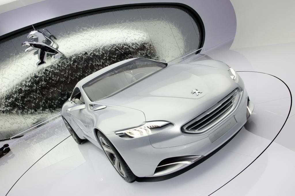 Konzeptfahrzeug 5 by Peugeot