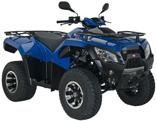 Kymco MXU 300 R als Straßen- und Geländeversion lieferbar