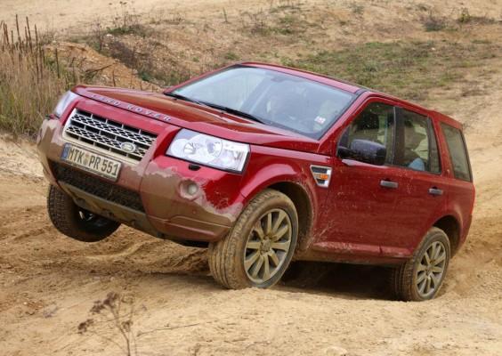 Land Rover Freelander siegt beim ZF-Praxistest 2010 für Kompakt-SUV