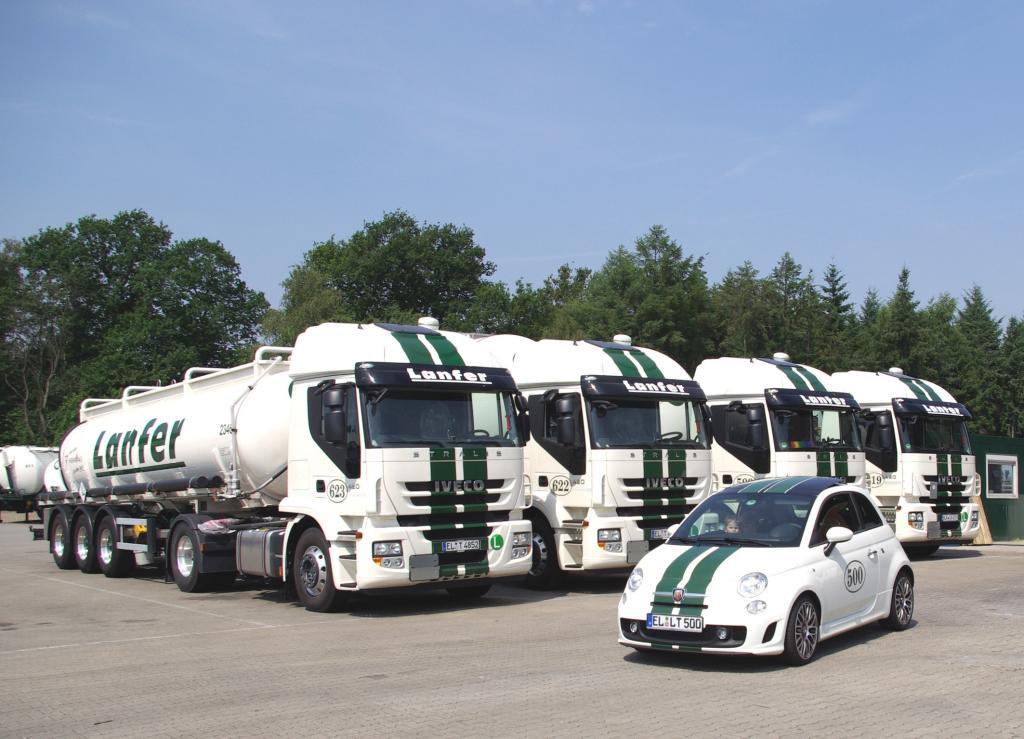 Lanfer Logistik bekommt 72 Iveco Stralis EEV