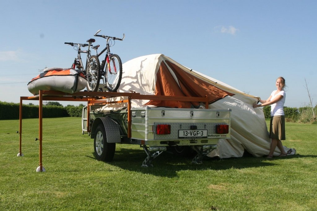 Living in a box: Camping mit Offroadanhänger