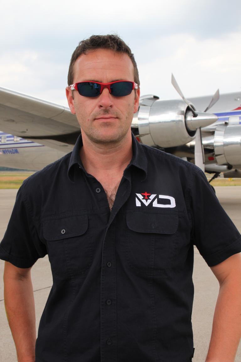 Matthias Dolderer, Pilot.