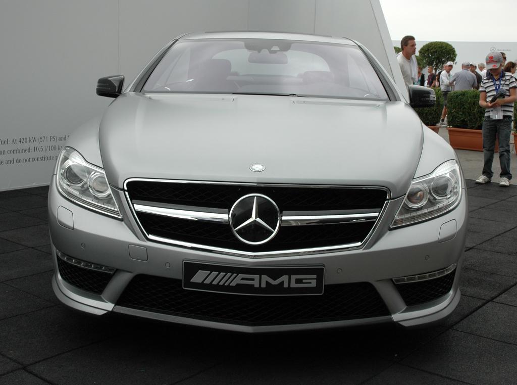 Mercedes CL 63 AMG: Benzindirekteinspritzung, Biturboaufladung und Stopp/Start-