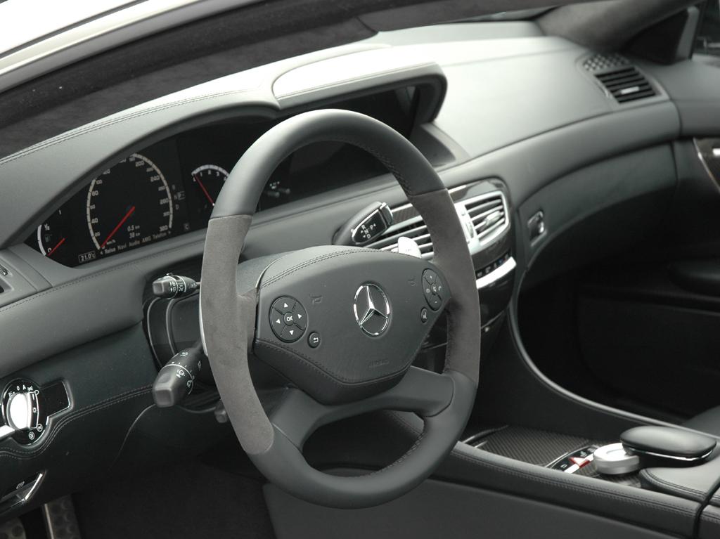 Mercedes CL 63 AMG: Blick ins Cockpit.