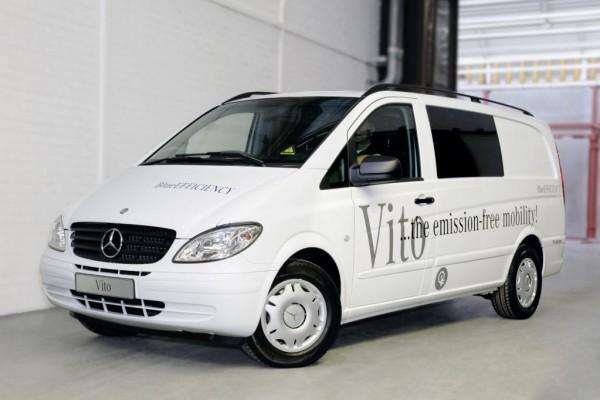 Mercedes Vito E-Cell: Emissionsfreier Lieferwagen