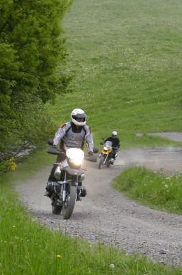 Motorrad-Tagfahrleuchten: Anbau erlaubt - Nutzung verboten