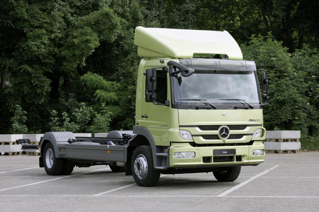 Neues Gesicht für Mercedes-Benz Atego und Axor