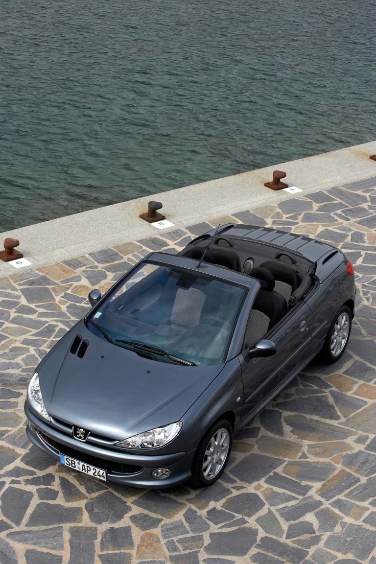 Peugeot 206 CC ist meistverkauftes Coupé-Cabriolet aller Zeiten