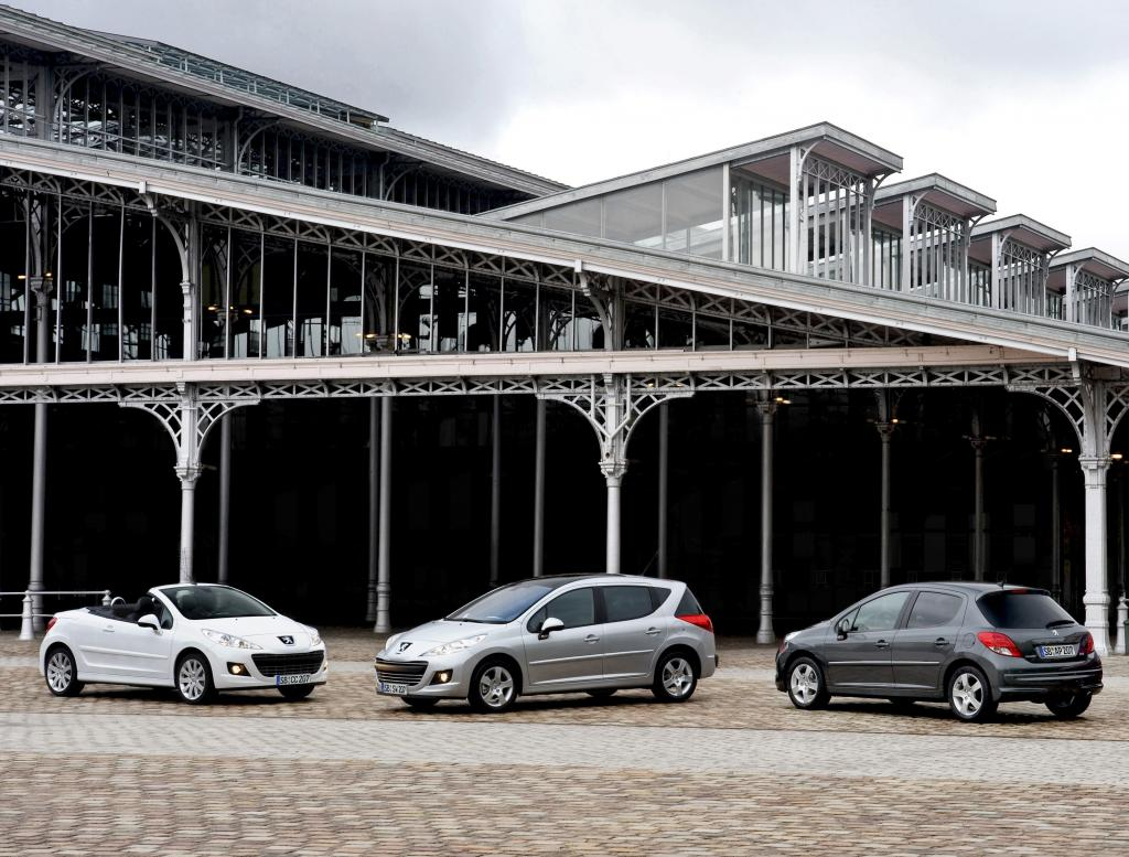 Peugeot 207.