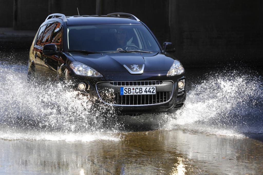 Peugeot 4007 2.2-Liter HDi erfüllt Euro5
