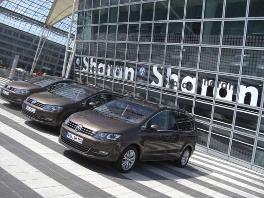 Pressevorstellung VW Sharan: Das Beste aus zwei Welten