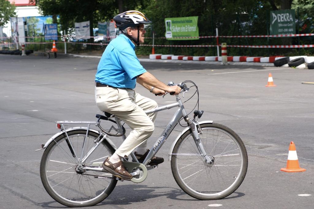 Radfahren trainiert Körper und Geist