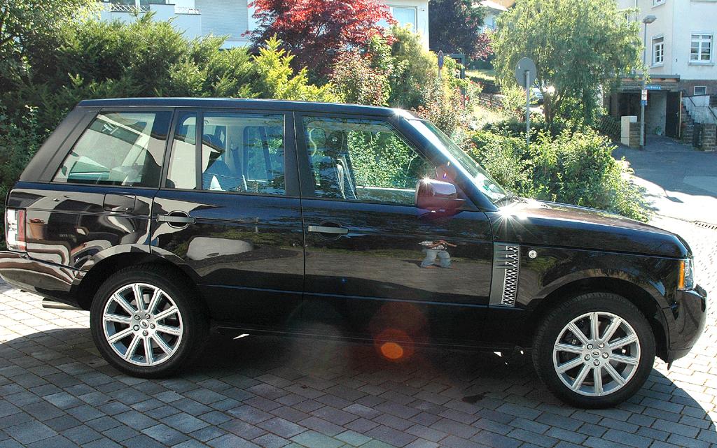 Range Rover Supercharged: Beifahrerseite.
