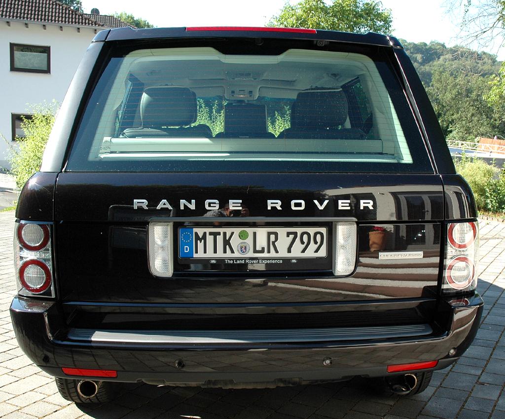 Range Rover Supercharged: Heckansicht.