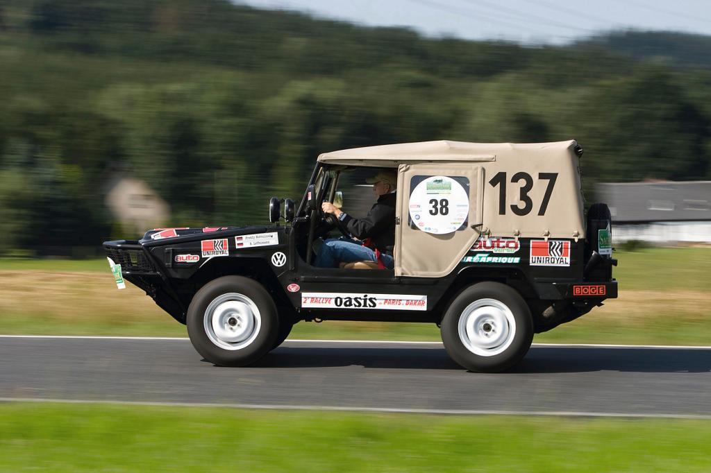 Silvretta 2010: Race Iltis von Freddy Kottulinsky.