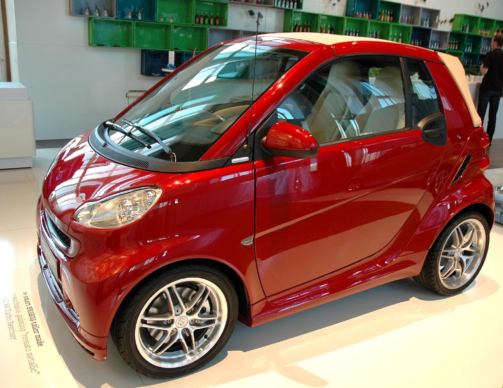 Smart Fortwo: Brabus-Cabrio-Sondermodell