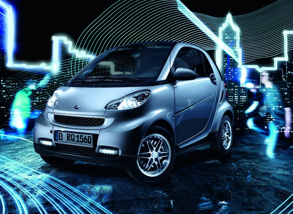 "Smart Fortwo ""Limited Silver""."