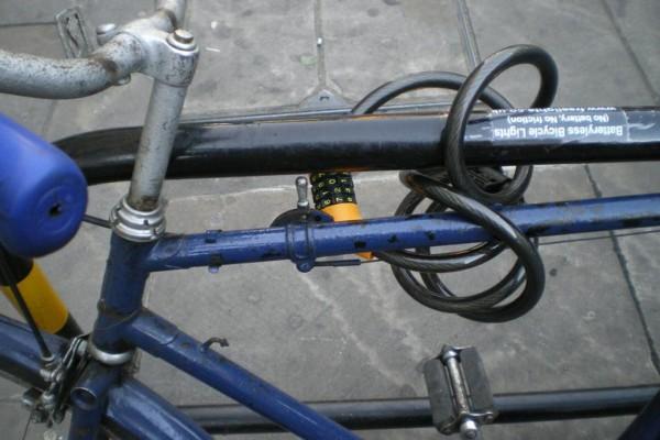 Tipp: Nicht am Fahrradschloss sparen