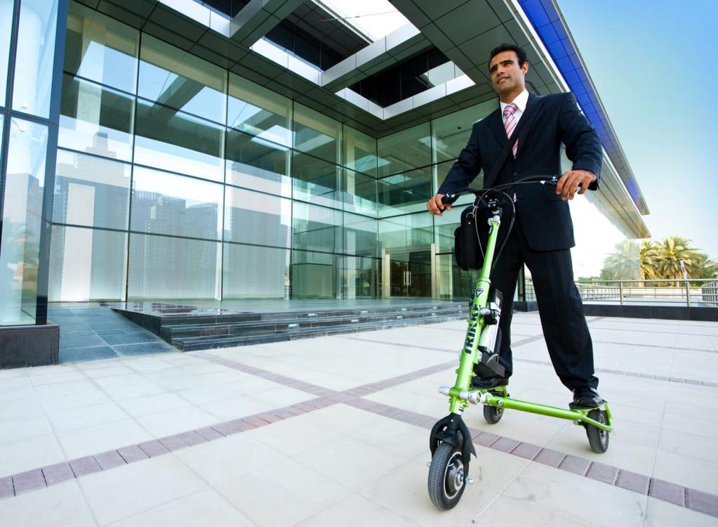 Trikke UP: Preiswerter E-Roller mit drei Rädern