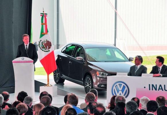 Volkswagen erweitert Produktionskapazitäten in Mexiko