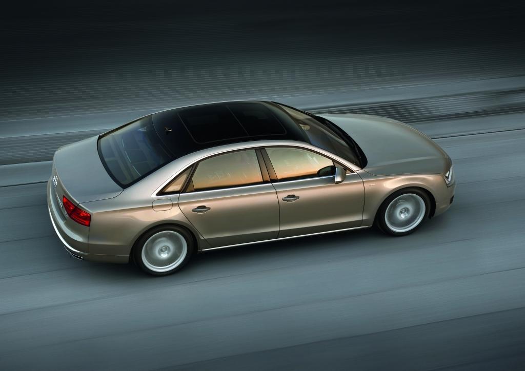 Vorstellung Audi A8 W12: Leistung rauf, Verbrauch runter