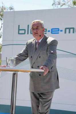 Winterkorn: ''Für jeden Kunden erreichbare Elektroautos anbieten''