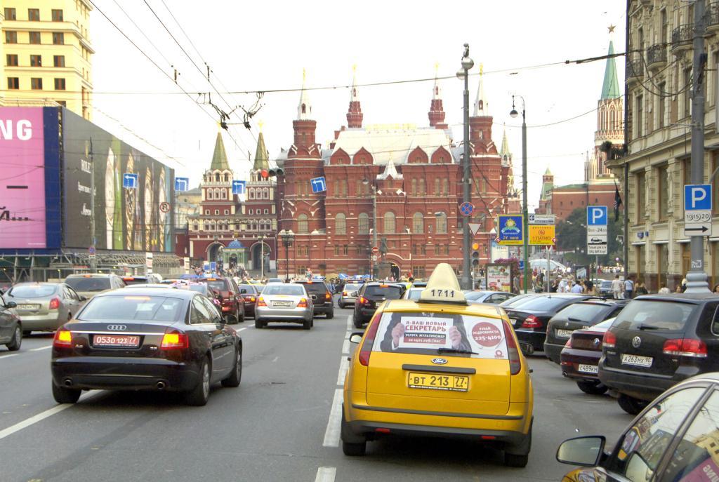 Wunschkennzeichen lassen sich in Russland ersteigern